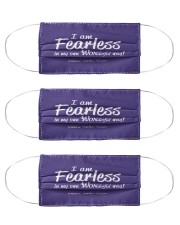 I Am Fearless wh Mask tile