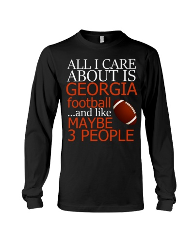 All I Care About Is Georgia Footbal