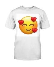 emoji love Premium Fit Mens Tee thumbnail