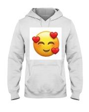 emoji love Hooded Sweatshirt thumbnail