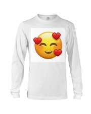 emoji love Long Sleeve Tee thumbnail