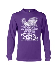 BUT I A READER -BOOK Long Sleeve Tee tile