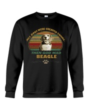 beagle sweetshirt Crewneck Sweatshirt tile