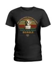 beagle sweetshirt Ladies T-Shirt thumbnail