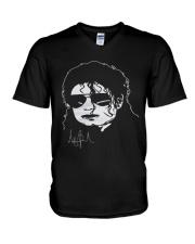 michael jackson shirt V-Neck T-Shirt thumbnail
