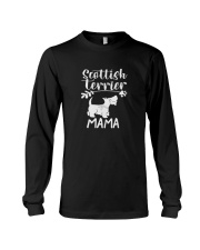 scottish terrier shirt Long Sleeve Tee thumbnail