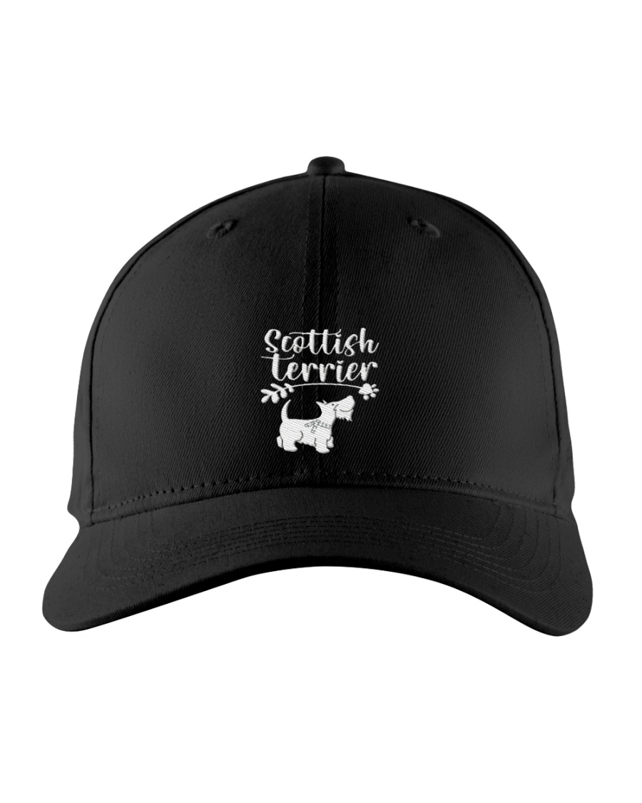 scottish terrier cap Embroidered Hat