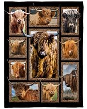 """Blanket - Cow Large Fleece Blanket - 60"""" x 80"""" front"""