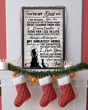 Poster Son To Dad Lion HBH 11x17 Poster lifestyle-holiday-poster-4