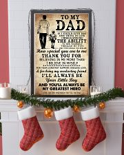 To My Dad My Great Hero TATA 11x17 Poster lifestyle-holiday-poster-4
