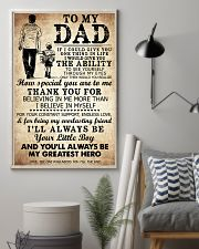To My Dad My Great Hero TATA 11x17 Poster lifestyle-poster-1