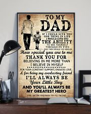To My Dad My Great Hero TATA 11x17 Poster lifestyle-poster-2