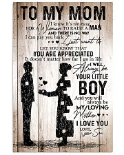 To My Mom - Boy TATA 11x17 Poster front