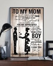 To My Mom - Boy TATA 11x17 Poster lifestyle-poster-2