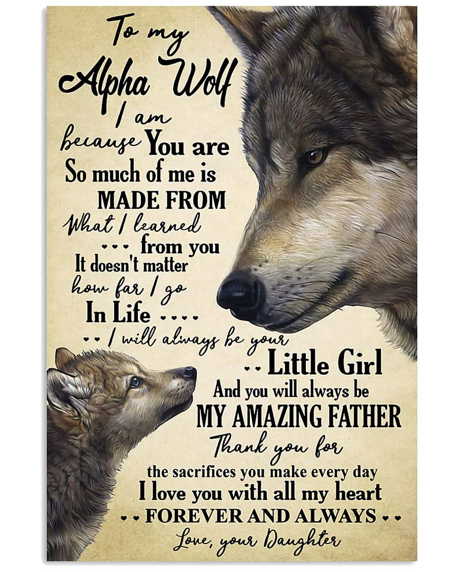 Poster Daughter To Alpha Wolf HBH 11x17 Poster