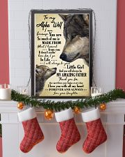 Poster Daughter To Alpha Wolf HBH 11x17 Poster lifestyle-holiday-poster-4