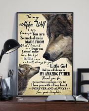 Poster Daughter To Alpha Wolf HBH 11x17 Poster lifestyle-poster-2