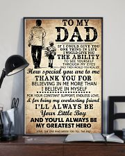 Poster Son To Dad Greast HBH 11x17 Poster lifestyle-poster-2