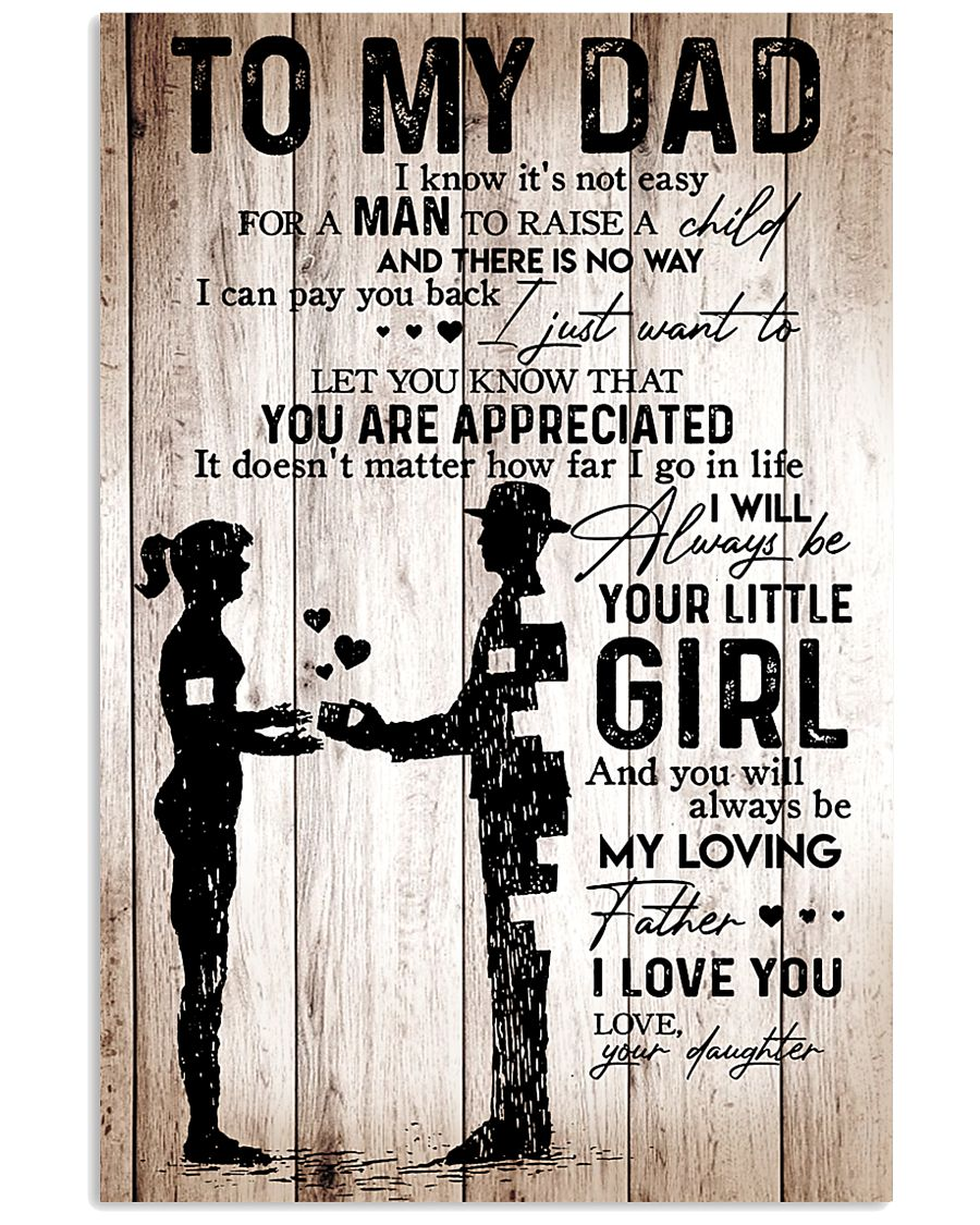 Poster Daughter To Dad HBH 11x17 Poster