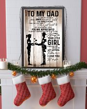 Poster Daughter To Dad HBH 11x17 Poster lifestyle-holiday-poster-4