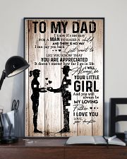 Poster Daughter To Dad HBH 11x17 Poster lifestyle-poster-2