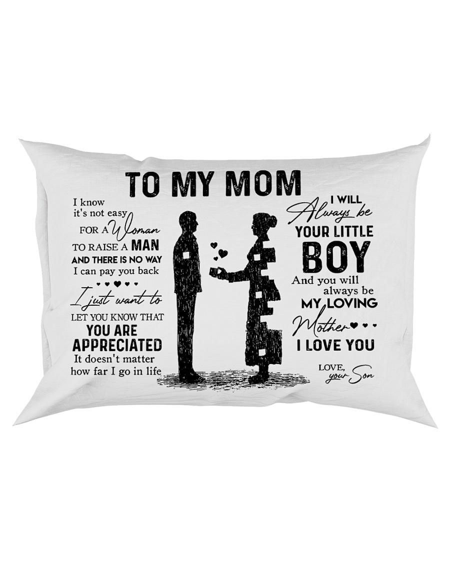 To My Mom - Boy Pillow TATA Rectangular Pillowcase