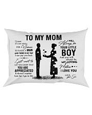 To My Mom - Boy Pillow TATA Rectangular Pillowcase front