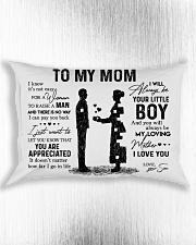 Pillow Son To Mom HBH Rectangular Pillowcase aos-pillow-rectangle-front-lifestyle-4