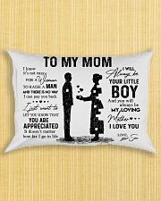 Pillow Son To Mom HBH Rectangular Pillowcase aos-pillow-rectangle-front-lifestyle-6