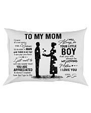 Pillow Son To Mom HBH Rectangular Pillowcase front