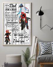 To My Dad Motobike TATA 11x17 Poster lifestyle-poster-1