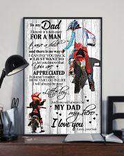 To My Dad Motobike TATA 11x17 Poster lifestyle-poster-2
