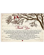 Thank You TATA 17x11 Poster front
