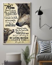 To My Mom Wolf TATA 11x17 Poster lifestyle-poster-1