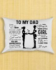 To My Dad - Girl Pillow TATA Rectangular Pillowcase aos-pillow-rectangle-front-lifestyle-6