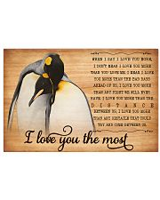 Penguin Love You Most Poster HBH 01 17x11 Poster front