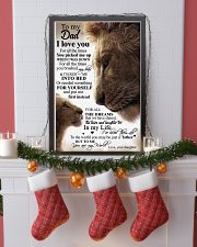 To My Dad Daughter Lion TATA 11x17 Poster lifestyle-holiday-poster-4
