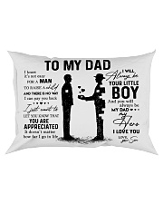 Pillow Son To Dad HBH Rectangular Pillowcase front