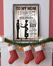 Poster Son To Mom HBH 11x17 Poster lifestyle-holiday-poster-4