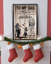 To My Dad Motobike TATA  11x17 Poster lifestyle-holiday-poster-4