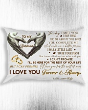 Couple To My Husband Hand Pillow  07 HBH Rectangular Pillowcase aos-pillow-rectangle-front-lifestyle-4