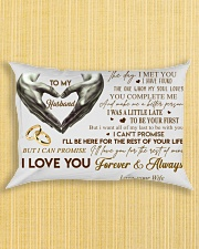 Couple To My Husband Hand Pillow  07 HBH Rectangular Pillowcase aos-pillow-rectangle-front-lifestyle-6