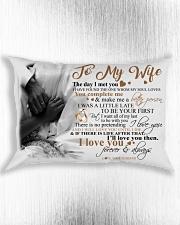 Couple To My Wife Pillow HBH Rectangular Pillowcase aos-pillow-rectangle-front-lifestyle-4