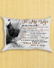 Couple To My Wife Pillow HBH Rectangular Pillowcase aos-pillow-rectangle-front-lifestyle-6
