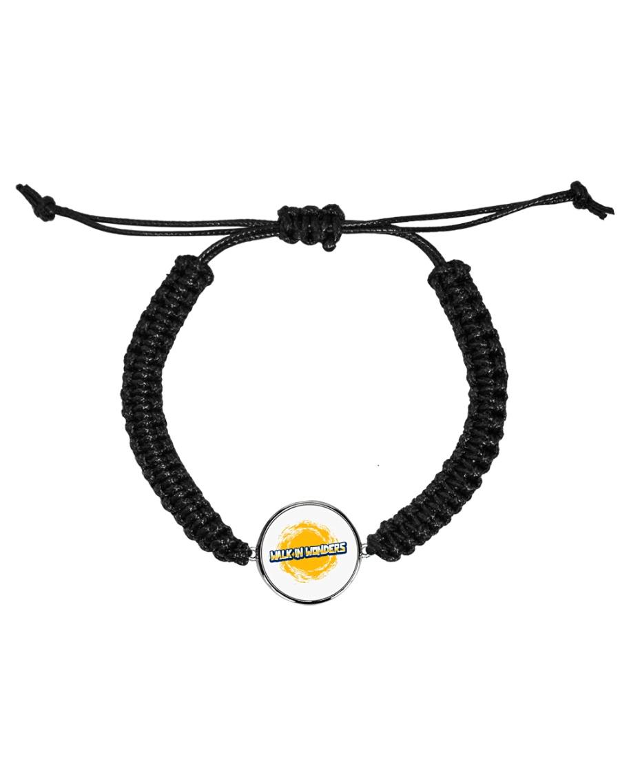 Walk In Wonders Premium T-Shirt Cord Circle Bracelet