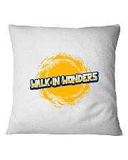 Walk In Wonders Premium T-Shirt Square Pillowcase thumbnail
