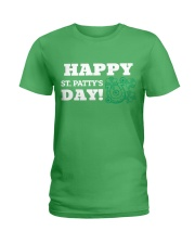 Happy St Patrick Day Shirts Ladies T-Shirt tile
