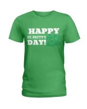 Happy St Patrick Day Shirts Ladies T-Shirt thumbnail