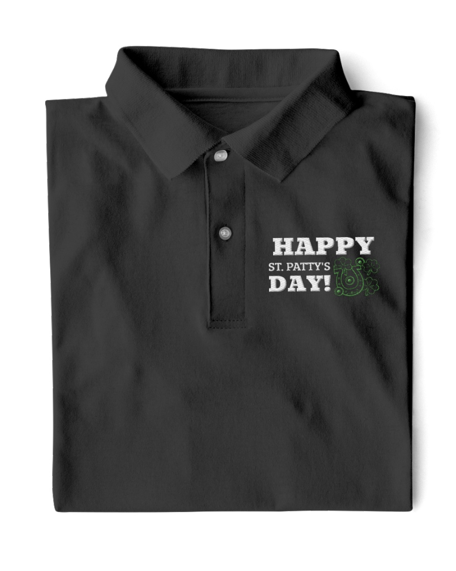 Happy St Patrick Day Shirts Classic Polo