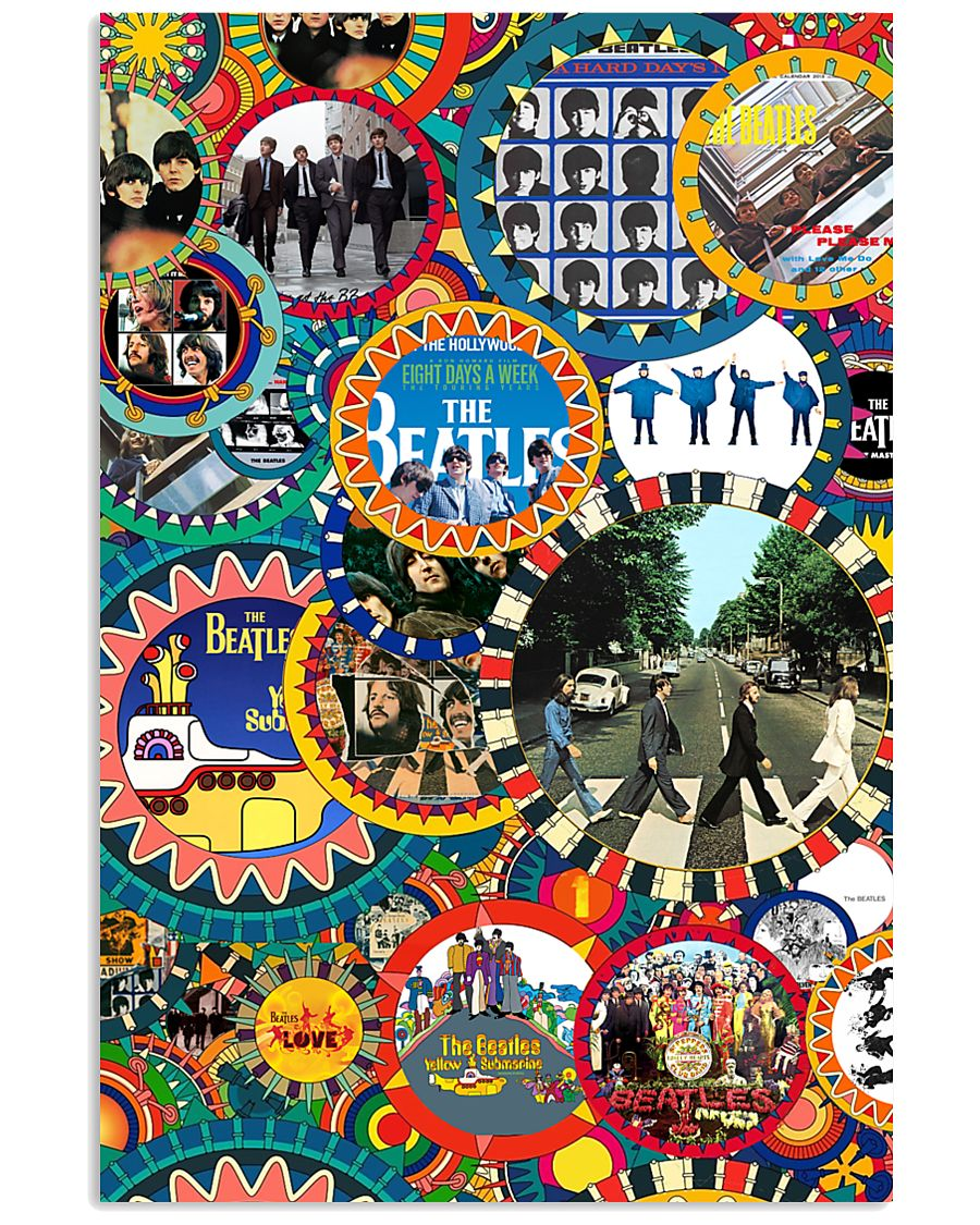 Beatles mahoni style 11x17 Poster
